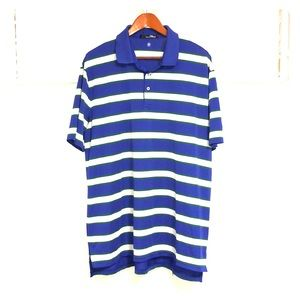 RLX RALPH LAUREN Striped Polo Golf Short Sleeve